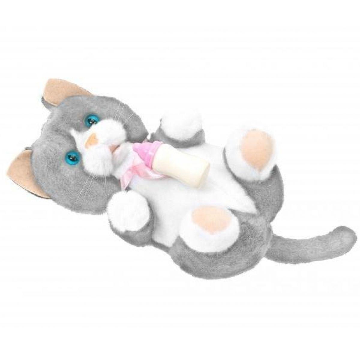 Novorozená zvířátka Animagic 17cm - Kočka