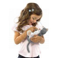 Novorozená zvířátka Animagic 17cm - Kočka 2