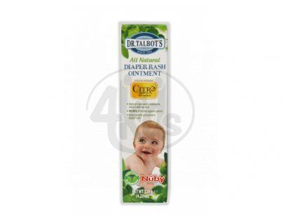 Nuby T77025NU - Dětská mast proti opruzeninám 120g Nuby All Natural