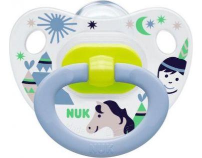 Nuk Dudlík Classic Happy Days 6-18m - Indián