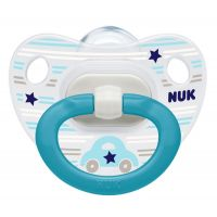NUK Dudlík Classic Happy Days, SI, V2 6-18m