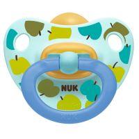 NUK Dudlík Classic Happy Kids, LA, ,V3 18m+ jablíčka zelená
