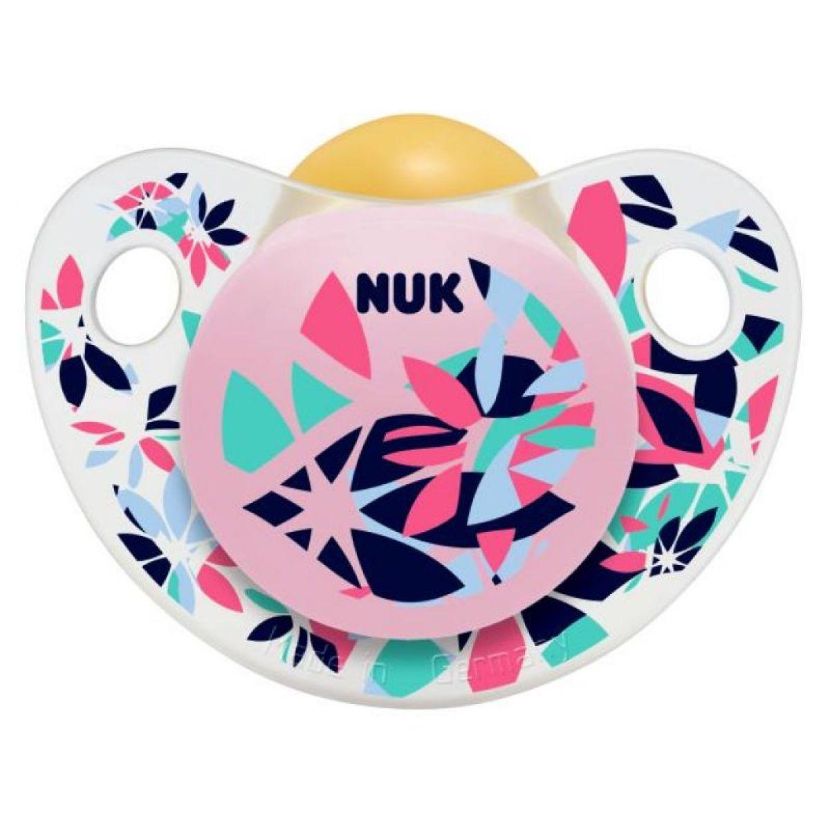 Nuk Dudlík Trendline Adore 0-6m - Květy