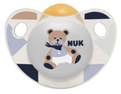 Nuk Dudlík Trendline Adore 0-6m - Medvídek