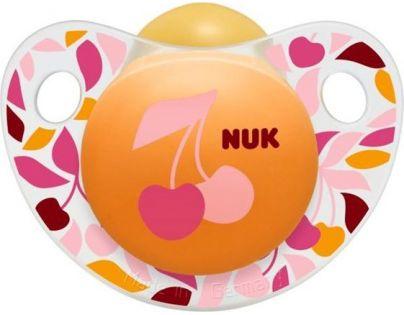 Nuk Dudlík Trendline Adore 0-6m - Třešně