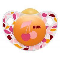 Nuk Dudlík Trendline Adore latex 6-18m - Třešně