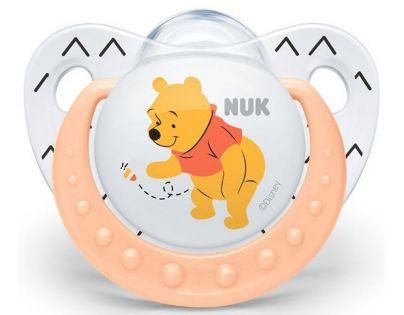 Nuk Dudlík Trendline Disney Medvídek Pú 6-18m Oranžová