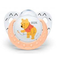 Nuk Dudlík Trendline Disney Medvídek Pú silikon SI, V1 0-6m Medvídek Pú