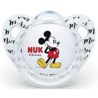 Nuk Dudlík Trendline Disney Mickey SI, V1 0-6m transparentní Mickey Mouse