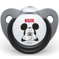 Nuk Dudlík Trendline Disney Mickey SI, V2 6-18m černý