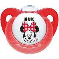Nuk Dudlík Trendline Disney Mickey SI, V2 6-18m červený