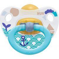 Nuk Dudlík Classic Happy Kids latex 6-18m - Moře vlny