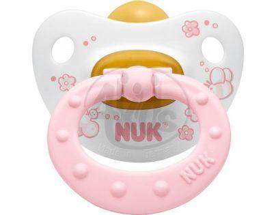 Nuk Dudlík Classic latex růžový 0-6m