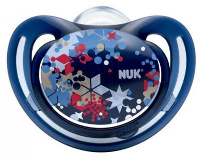 Nuk Dudlík Freestyle 0-6m - Tmavě modrý