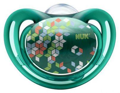 Nuk Dudlík Freestyle 0-6m - Tmavě zelený