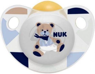 Nuk Dudlík Trendline Adore latex 6-18m - Modrý