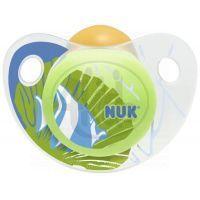 Nuk Dudlík Trendline Adore latex 6-18m - Zelený