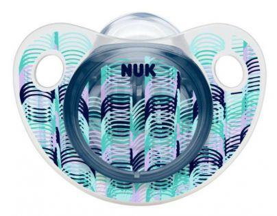 Nuk Dudlík Trendline Adore silikon 6-18m - Vlnovky