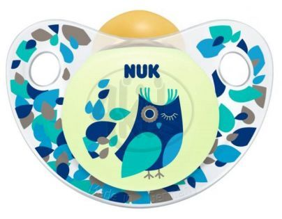 Nuk Dudlík Trendline Den a Noc latex 6-18m