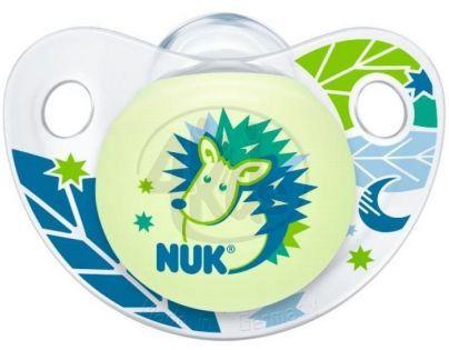 Nuk Dudlík Trendline Den/Noc latex 6-18m - Ježek