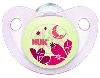 Nuk Dudlík Trendline Den/Noc latex 6-18m - Měsíc
