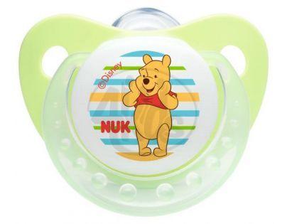 Nuk Dudlík Trendline Disney Medvídek Pú 0-6m - Zelený