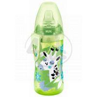 Nuk FC Active Cup Lahev 300 ml - Zelená se žirafou