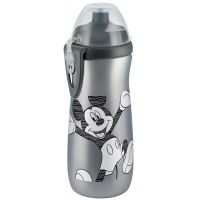 Nuk Disney FC Láhev Sports Cup Mickey 450 ml SI - Šedá