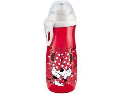 Nuk FC Láhev Sports Cup Disney Mickey 450ml SI Červená