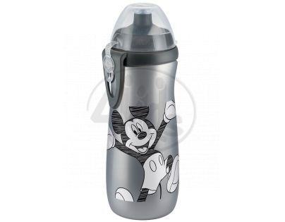 Nuk Disney FC Láhev Sports Cup Mickey 450 ml SI - Šedá