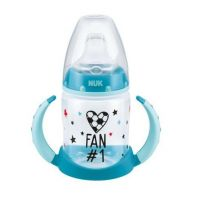 NUK First Choice lahvička na učení 150 ml fotbalová edice