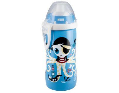 Nuk Láhev Flexi Cup 300 ml - Modrá chobotnice