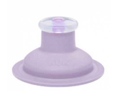 Nuk Náhradní silikonové pítko Push-Pull - Fialové