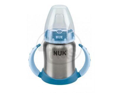 Nuk Nerez láhev na učení 125 ml - Modrá
