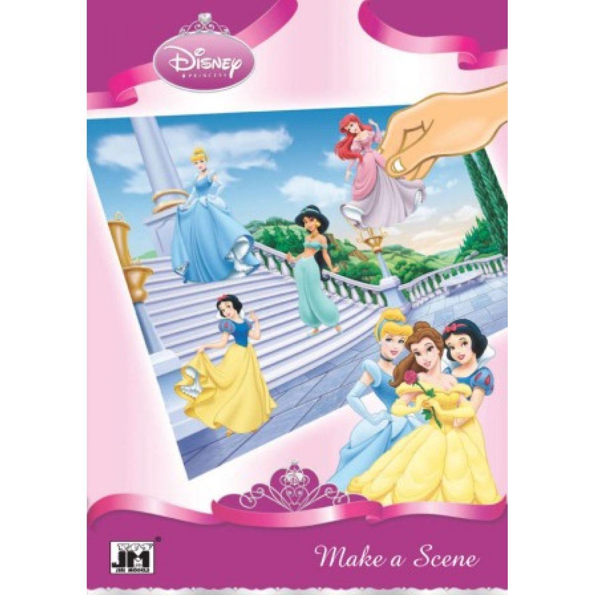 Obrázková alb Disney Princezny A4