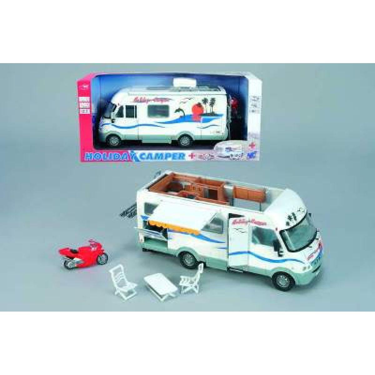 Dickie D 3314847 - Holiday Camper, obytné auto na setrvačník