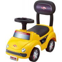 Odrážedlo auto žluté výška sedadla 20 cm