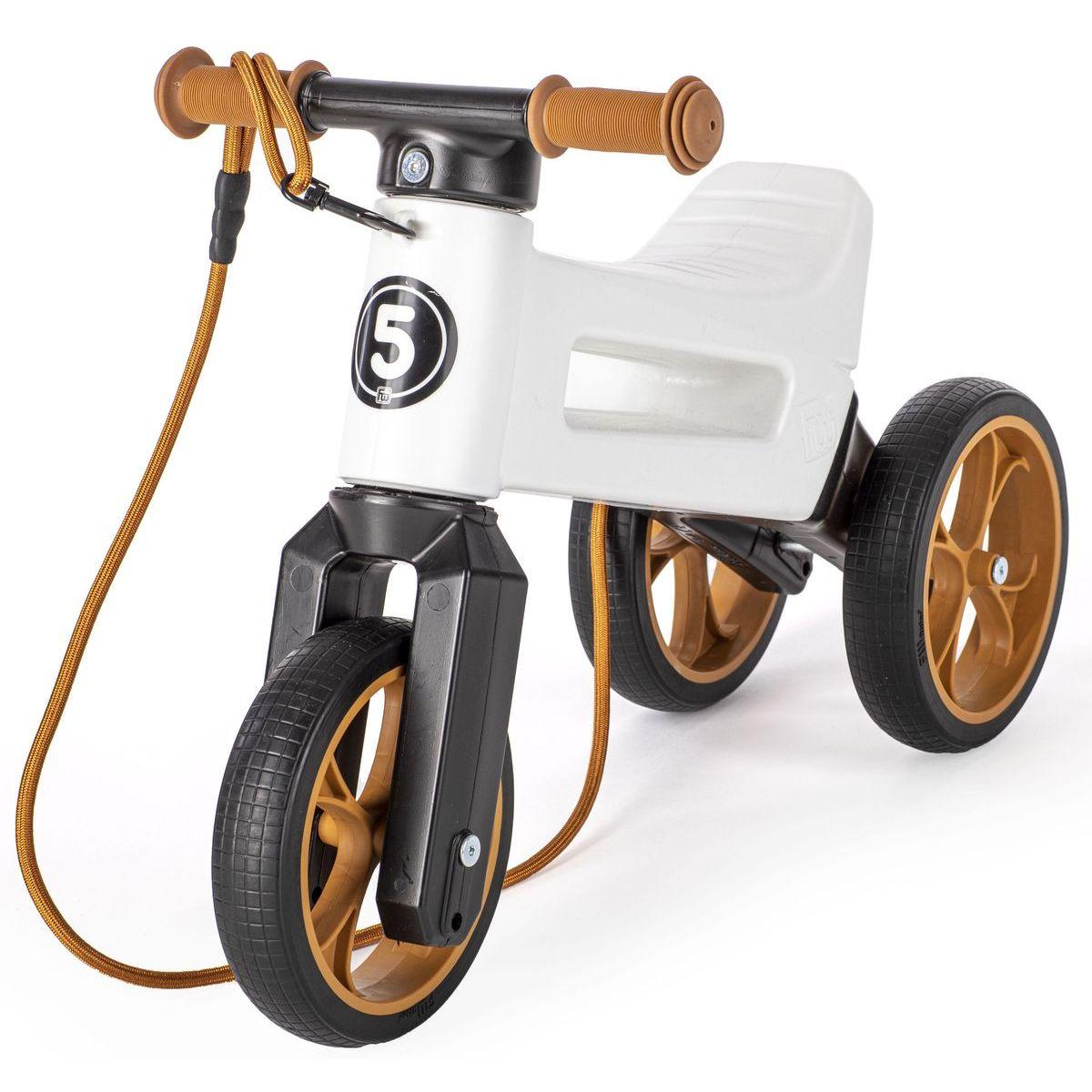 Funny Wheels Odrážedlo  Rider SuperSport bílé 2v1