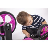 Odrážedlo Funny Wheels Rider SuperSport fialové 2v1 6