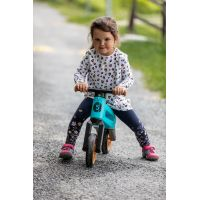Odrážedlo Funny Wheels Rider SuperSport tyrkys 2v1 4