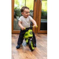 Odrážedlo Funny Wheels Rider SuperSport zelené 2v1 6
