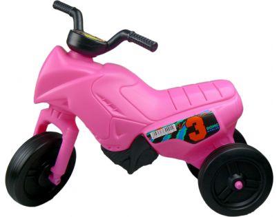 Odrážedlo motorka Enduro malé 150 - Růžová
