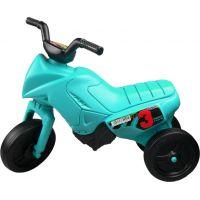 Odrážedlo motorka Enduro malé 150 - Tyrkysová