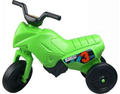 Odrážedlo motorka Enduro malé 150 - Zelená světlá