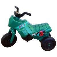 Odrážedlo motorka Enduro malé 150 - Zelená tmavá