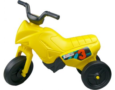 Odrážedlo motorka Enduro malé 150 - Žlutá