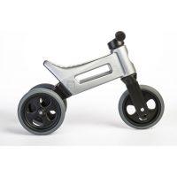 Funny Wheels Odrážedlo šedá 2 v 1 2