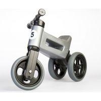 Funny Wheels Odrážedlo šedá 2 v 1