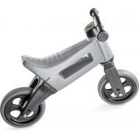Funny Wheels Odrážedlo šedá 2 v 1 5