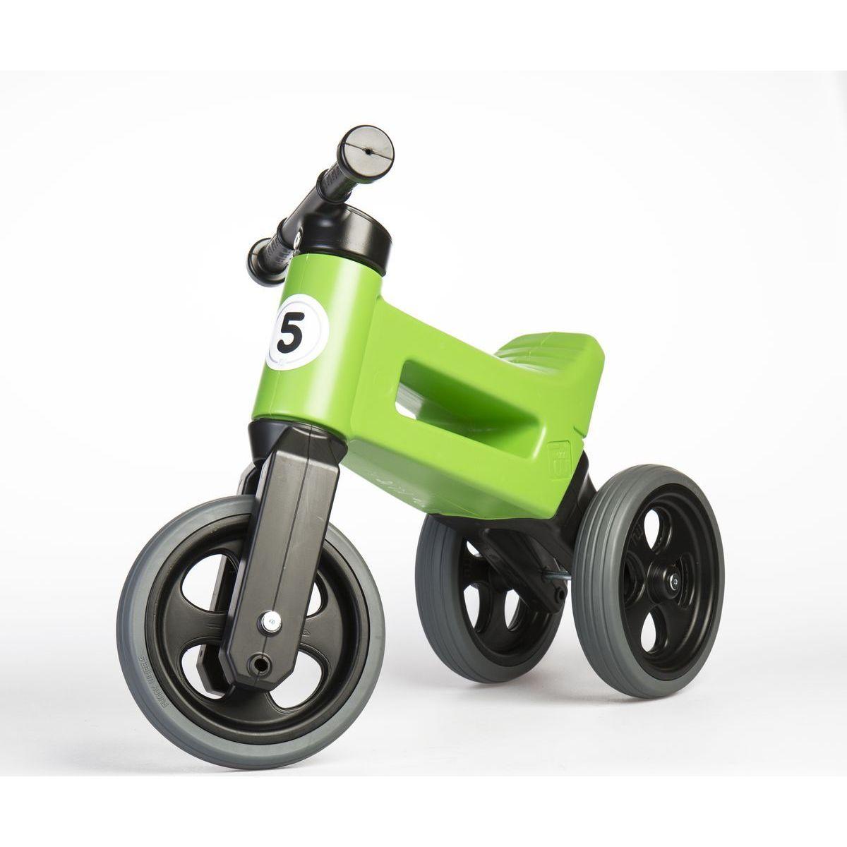Funny Wheels Odrážedlo zelené 2 v 1